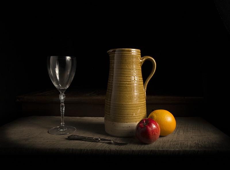 Simple jug still life