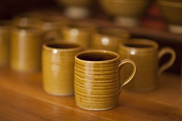 Mugs by Glyn Ryland