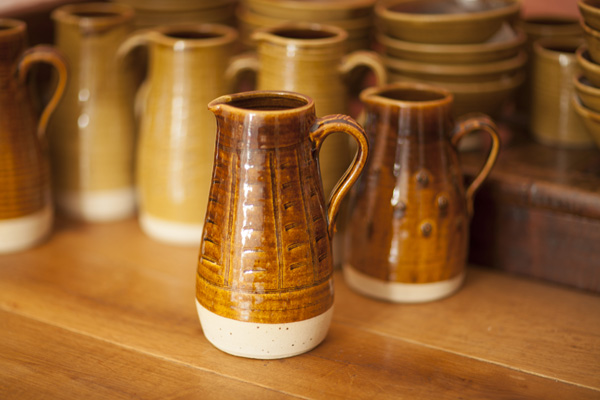 Jug Glyn Ryland pottery