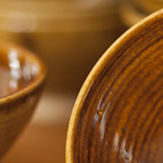 Stoneware bowls by Ryland Pottery
