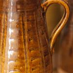 Stoneware jug by Ryland Pottery