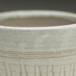 Stoneware beaker by Glyn Ryland