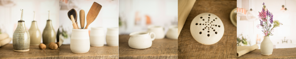 pots by Glyn Ryland